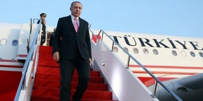 Erdoğan ABD'ye gidiyor