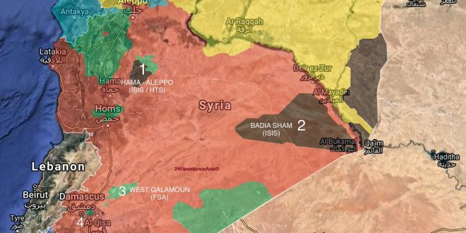 Suriye, böyle paylaşıldı!