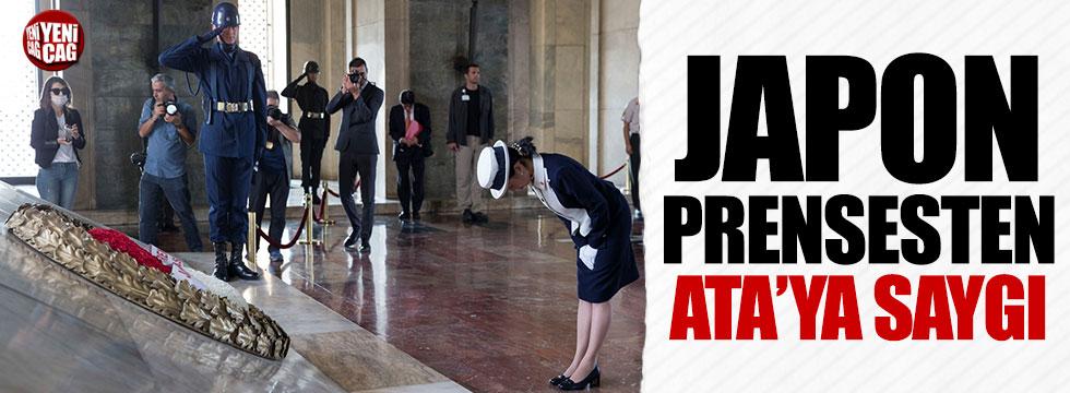 Japon Prenses Atatürk'ün huzurunda