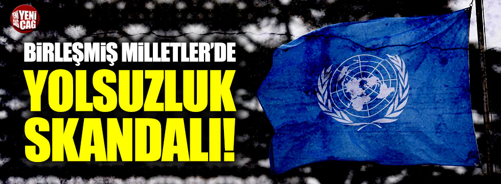 BM'de yolsuzluk skandalı