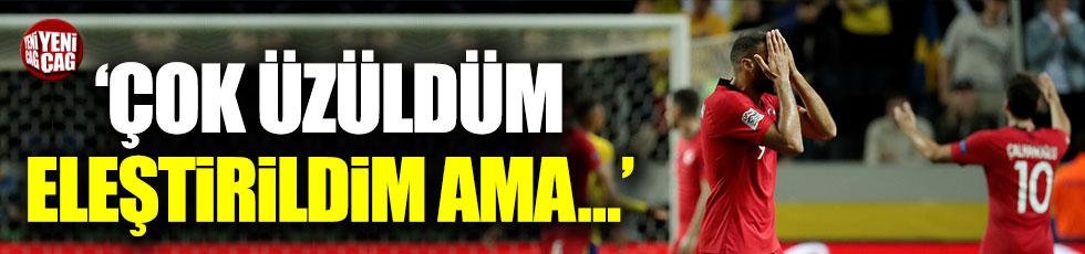 Çalhanoğlu'ndan maç sonu açıklaması