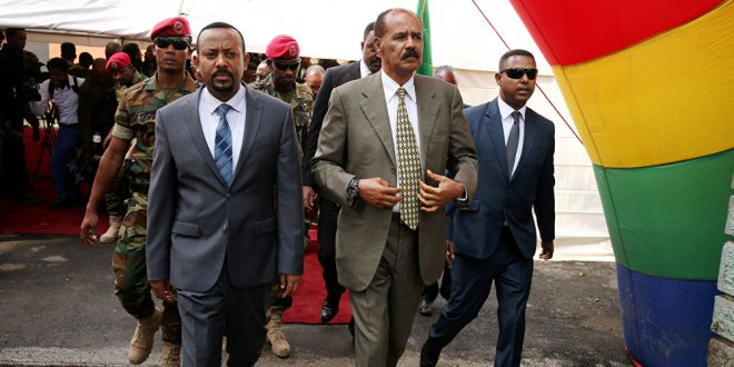 Eritre -Etiyopya sınırı 20 yıl sonra açıldı