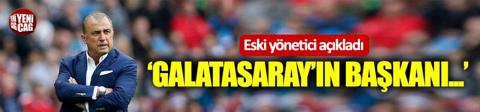 Adnan Öztürk: Galatasaray'ın başkanı Terim'dir