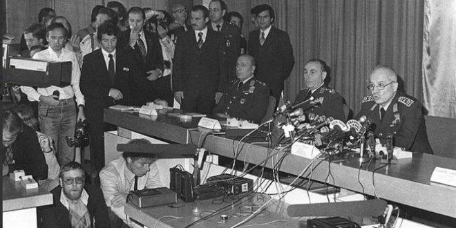 38. yılında 12 Eylül 1980 darbesi