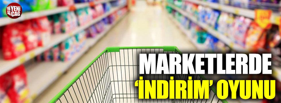 Marketlerde 'sahte indirim' iddiası