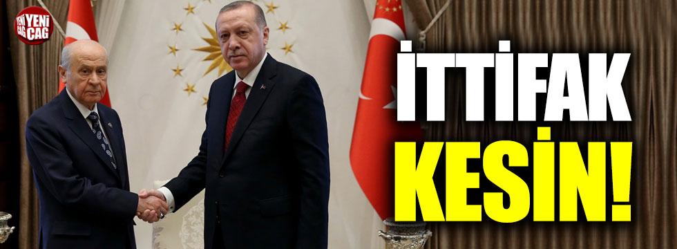 AKP ve MHP ittifakı kesin!