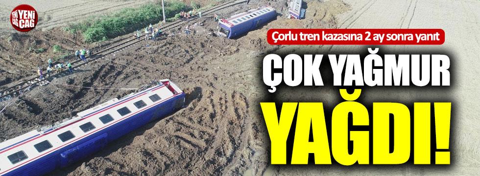çorlu Tren Kazasına Iki Ay Sonra Yanıt