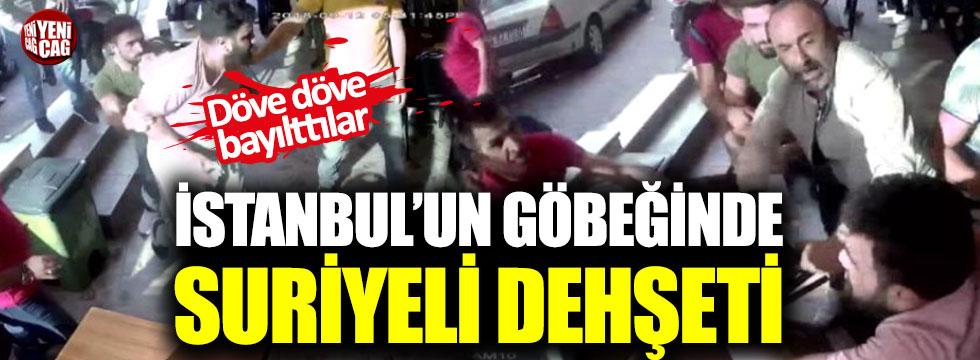 İstanbul'un göbeğinde Suriyeli dehşeti!