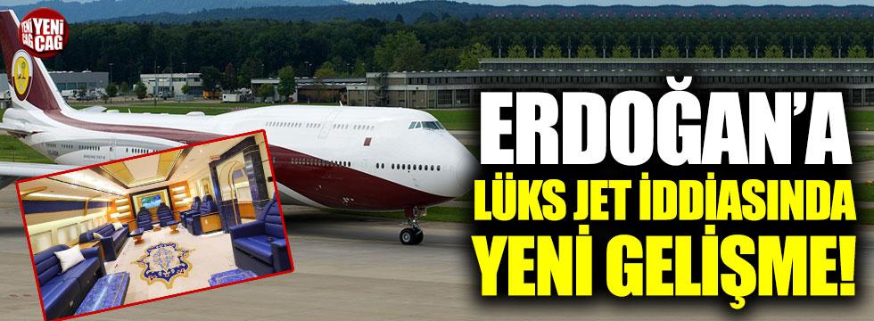 Erdoğan'a lüks jet iddiasında yeni gelişme!