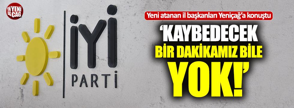 İYİ Parti'nin Ankara, Aydın ve Kayseri İl Başkanları Yeniçağ'a konuştu