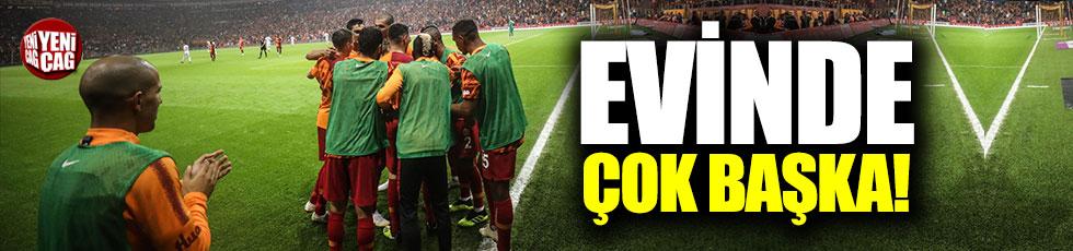 Galatasaray evinde çok başka!