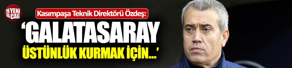 """""""Galatasaray üstünlük kurmak için oyunu gerdi"""""""