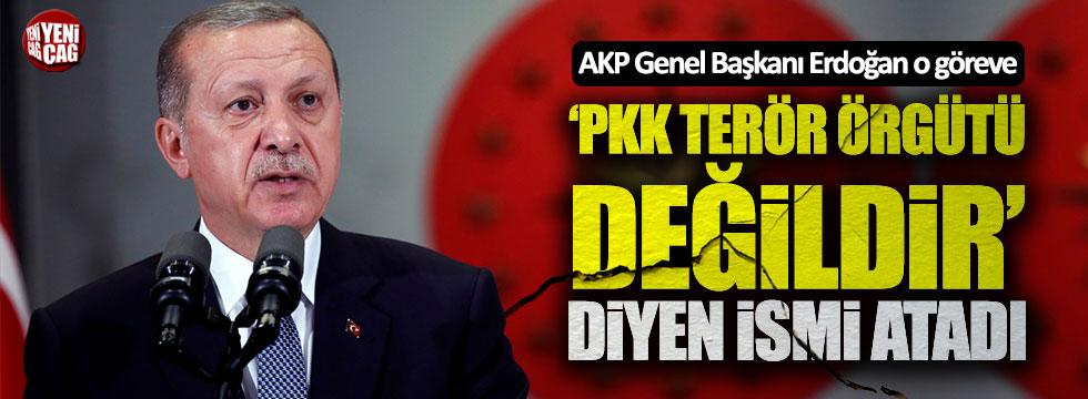 """Erdoğan """"PKK terör örgütü değildir"""" diyen isme partide görev verdi"""