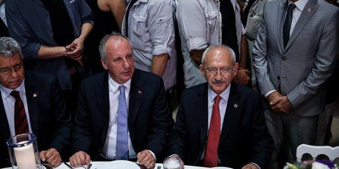 Kılıçdaroğlu ile İnce, bir araya geldi