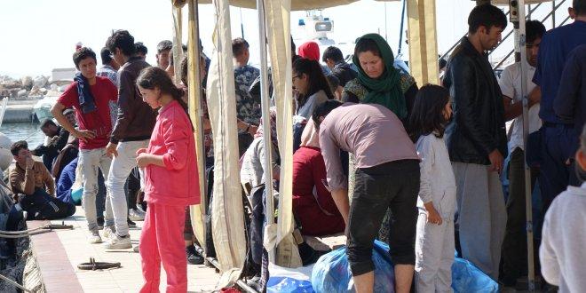 Çanakkale'de 85 kaçak göçmen yakalandı
