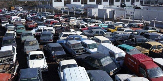 Hurdaya giden araç sayısı 25 kat arttı