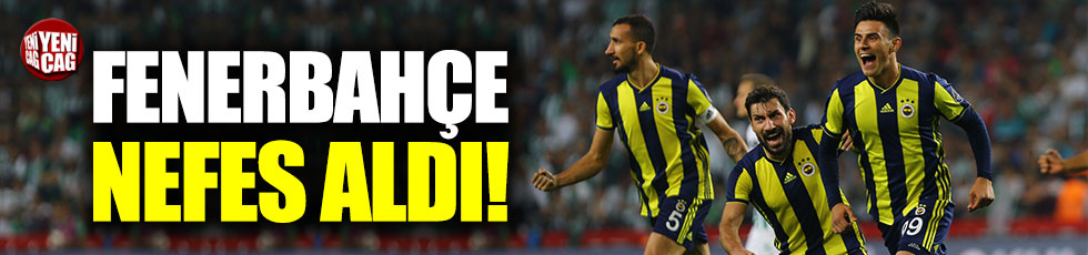 Konyaspor 0-1 Fenerbahçe / Maç özeti