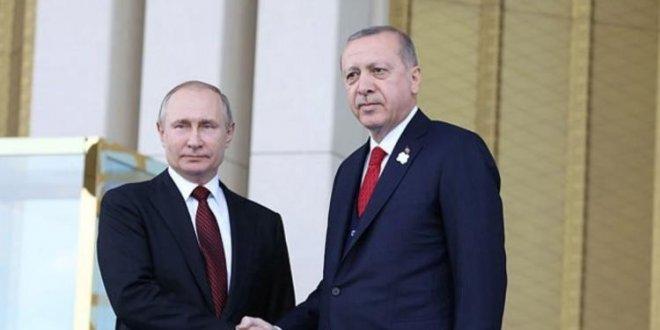 Erdoğan-Putin zirvesi başladı