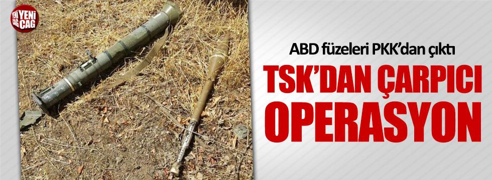 ABD füzeleri PKK'dan çıktı