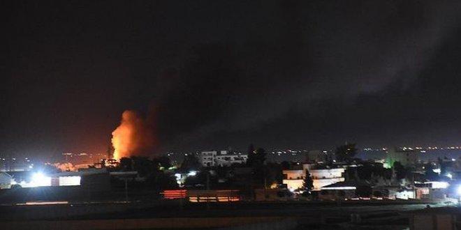Suriye'de art arda patlamalar