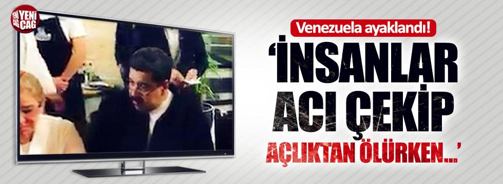 "Maduro'ya Nusret tepkisi: ""Venezuela ayaklandı"""