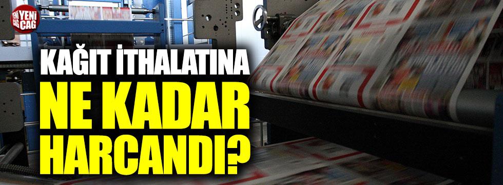 İYİ Parti'den soru önergesi: Kağıt ithalatına ne kadar harcandı?
