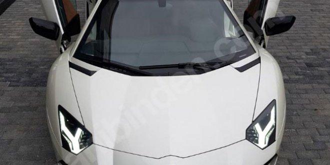 Milletvekilinden satılık Lamborghini!