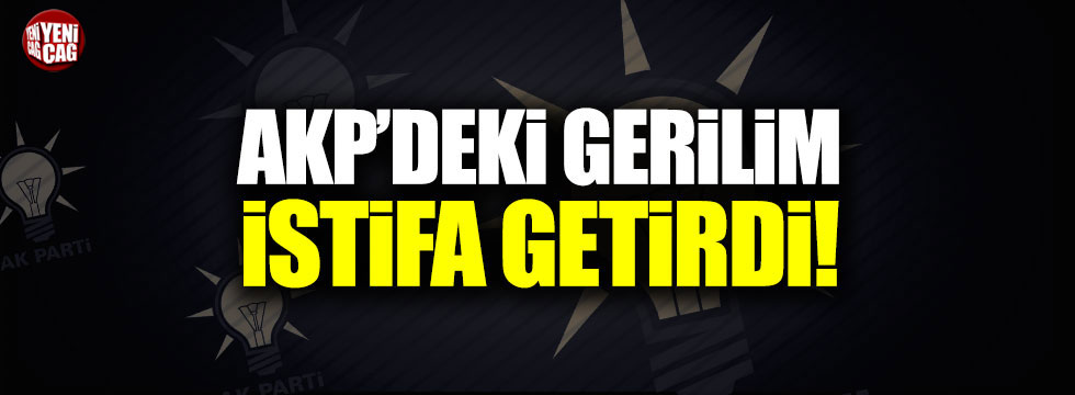 AKP'li Büyükşehir Belediye Başkanı istifa etti