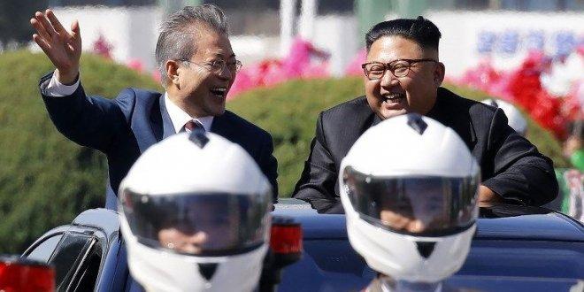 Güney Kore liderine görkemli karşılama