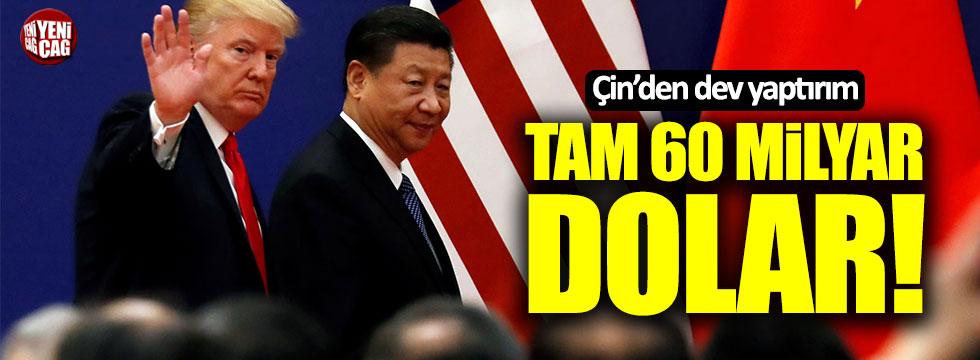 Çin'den ABD'ye dev yaptırım