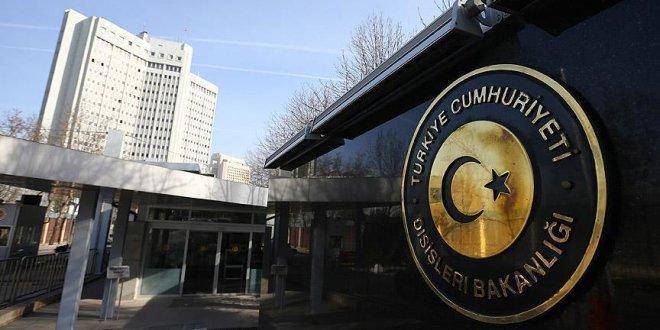 Türkiye'den ABD'ye taziye mesajı