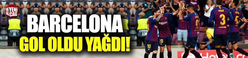 Barcelona PSV'ye acımadı