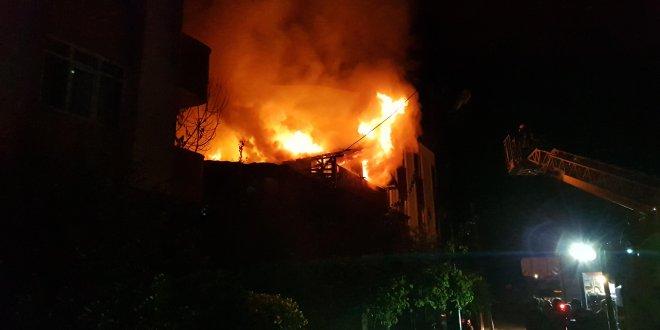 Kocaeli'de yangın