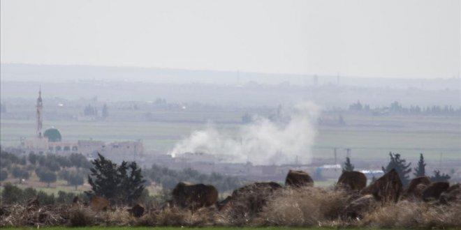 Suriye'de karşılıklı top atışları