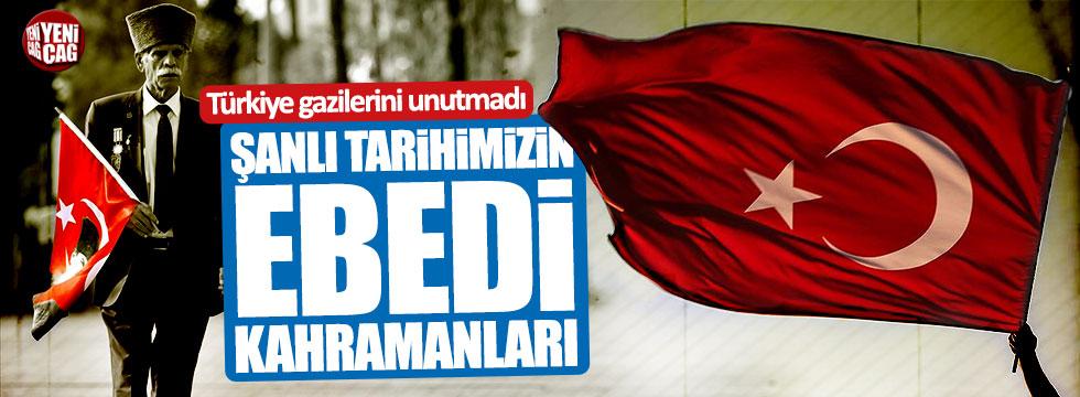 Türkiye gazilerini unutmadı!