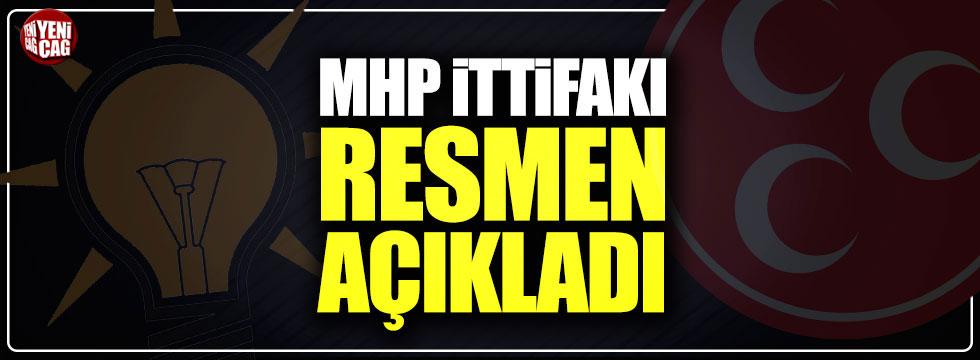 """MHP: """"30'a yakın ilde AKP ile ittifak yapacağız"""""""