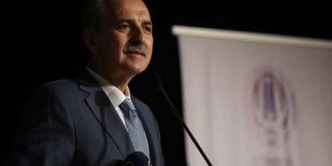 İstifanın ardından AKP'li Kurtulmuş'tan ilk açıklama