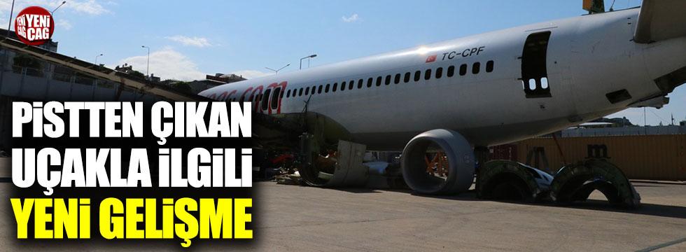Trabzon'da pistten çıkan uçak 'Millet Kıraathanesi' olacak