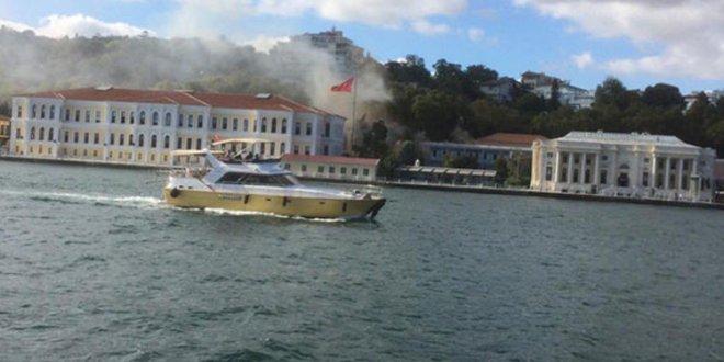 Beşiktaş'ta yangın!