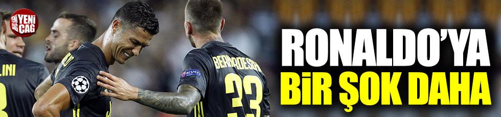 Ronaldo'ya bir şok daha