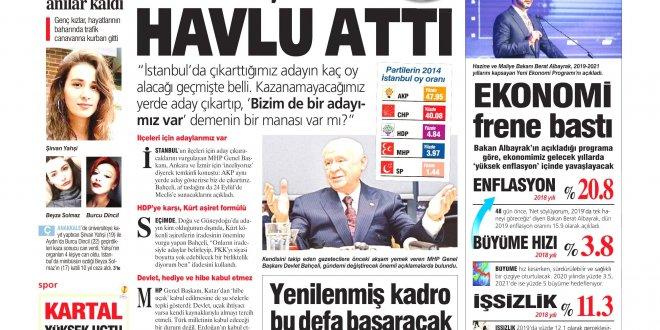 Günün Ulusal Gazete Manşetleri - 21 09 2018