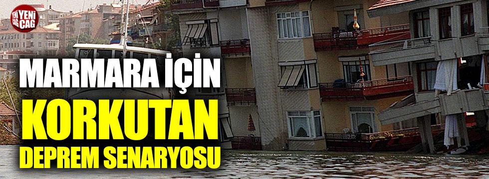 Marmara için kritik deprem açıklaması