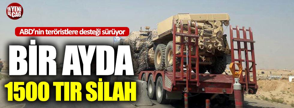ABD'den YPG'ye 1500 tır silah!