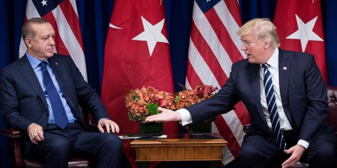 Erdoğan ve Trump görüştü