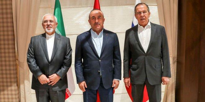 Rusya, İran, Türkiye'den Trump'ın evinde İdlib görüşmesi