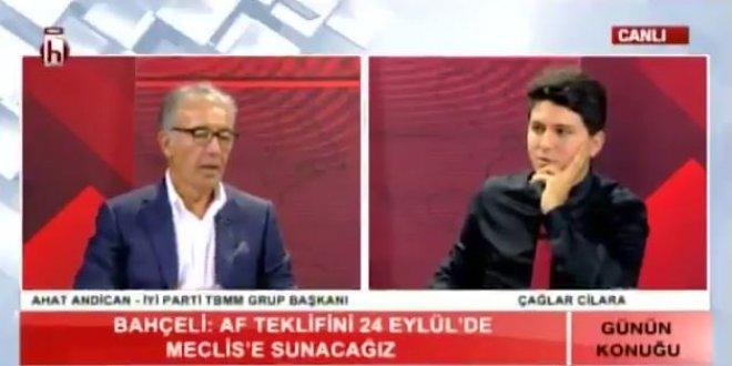 İYİ Parti Grup Başkanı Andican'dan af açıklaması