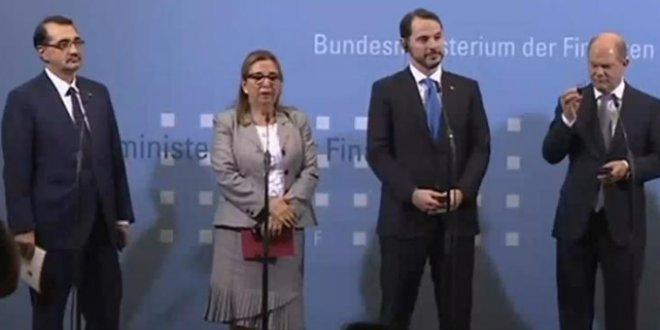 """Albayrak: """"Almanya'yla ortaklığımız sürecek"""""""