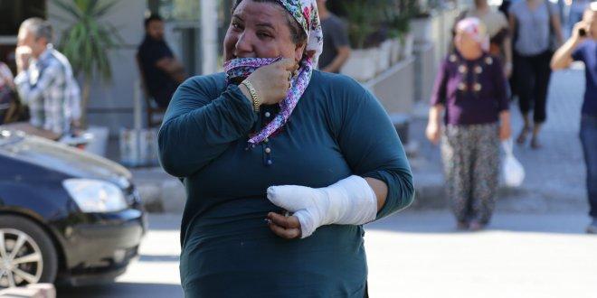 Korna sesini duymadığı için işitme engelli kadını dövdüler!