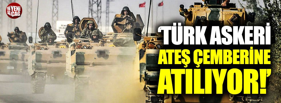 """Özdağ: """"Türk askeri ateş çemberine atılıyor"""""""