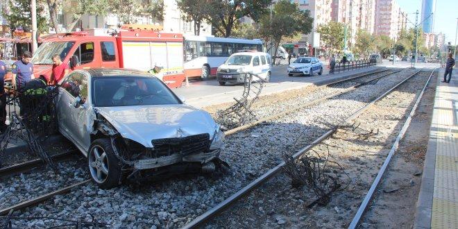 Ehliyetine 2 kez el koyulan sürücüden kaza